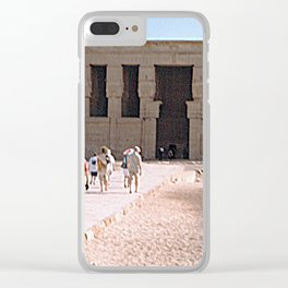 Temple of Dendera, no. 5 Clear iPhone Case