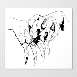 Which Witch Hands Canvas Print