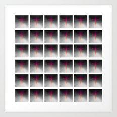 ▦ Space Cross ▦ Art Print