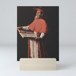 Saint Jerome (de Zurbaran 1627) Mini Art Print