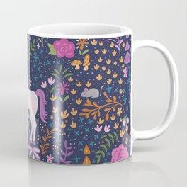 Unicorns Dancing in an Enchanted Garden Coffee Mug