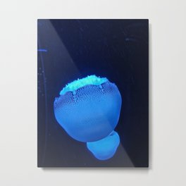 Blue Jelly Metal Print