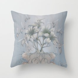 Apiphobia Throw Pillow