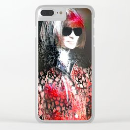 Wintour Is Coming Clear iPhone Case