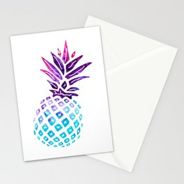Pineapple Paradise - Ice Dye Stationery Cards
