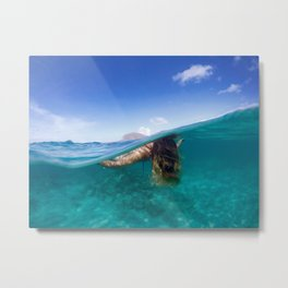 Hawaiian Days  Metal Print