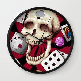 Gambler Wall Clock