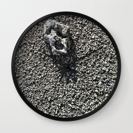 The Last Rock On Earth. Wall Clock