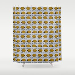 Mr Trundle (3) Shower Curtain
