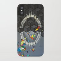 teeth iPhone & iPod Cases featuring Teeth by VikaValter