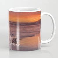 carpe diem Mugs featuring CARPE DIEM by Guido Montañés