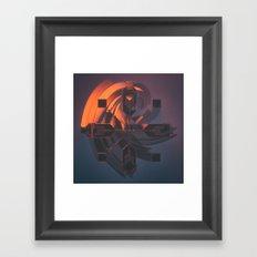 170122 / VORT.x Framed Art Print