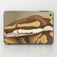 monty python iPad Cases featuring Ball Python (Odysseus) by WesSide