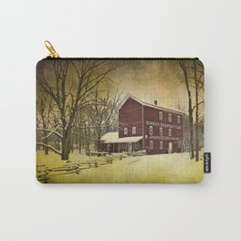 Bowen's Cider Mill during Winter Carry-All Pouch