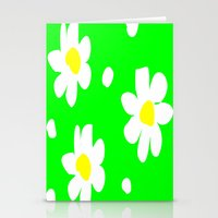 daisies Stationery Cards featuring Daisies by Vitta