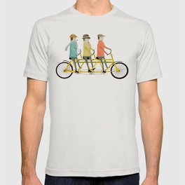 the tandem trio T-shirt
