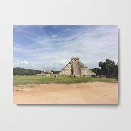 Chichén Itzá Metal Print