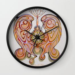 imperial butterfly Wall Clock