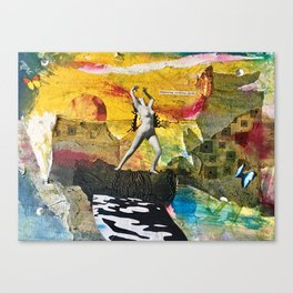 Dispensing Vicarious Thrills Canvas Print