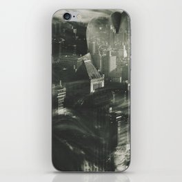 The sound of the city iPhone Skin
