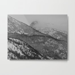 Rocky Mountain Mists Metal Print
