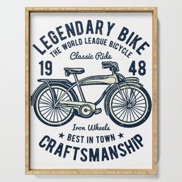 Classic Bicycle Serving Tray