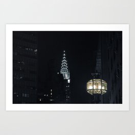 Spectral City Art Print