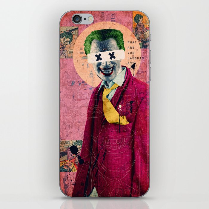 What Are You Laughin' At? iPhone Skin