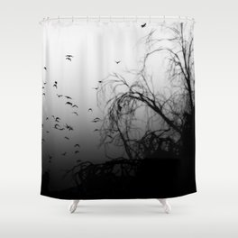 Into The Darkness 3 Shower Curtain