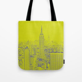 Empire State - Green Tote Bag