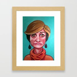 Jerri Blank Framed Art Print