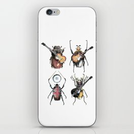 Meet the Beetles (white option) iPhone Skin