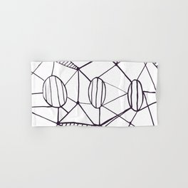 Pica_outline Hand & Bath Towel