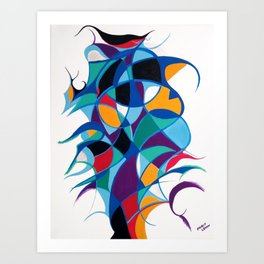 Stay in Balance Art Print