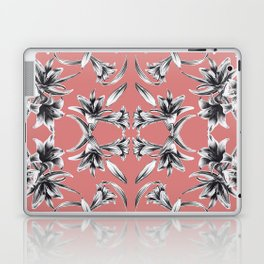 Lilium floral mirror Laptop & iPad Skin