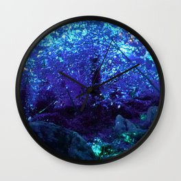 Fern Garden Wall Clock