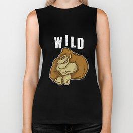Wild, Animal, Forest Biker Tank