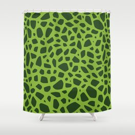 Cell Pattern Shower Curtain