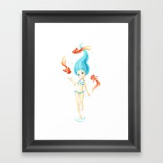 Coral 2 Framed Art Print
