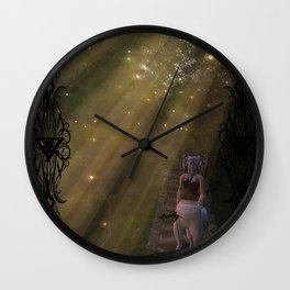 Road Less Travelled Wall Clock