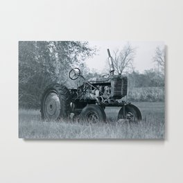 Farmer's Best Friend - B & W Metal Print