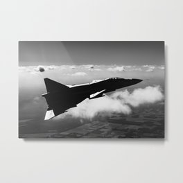 Shadow Viggen Metal Print