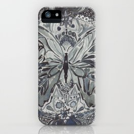 Butterfly lace iPhone Case