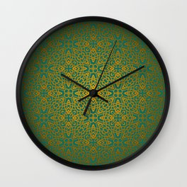 70's style Celtic Knotwork Wall Clock