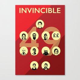 Arsenal Invincibles Canvas Print