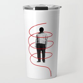 Red Thread 1 Travel Mug