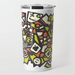 Abstract Art Graffiti Art Drawing Psychedelic Gift Travel Mug