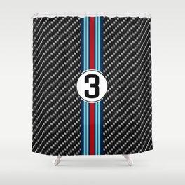 martini racing Shower Curtain