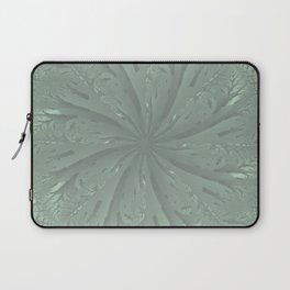 Lost in the Laurels Fractal Bloom Laptop Sleeve