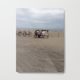 Many bikes, no shirt Metal Print